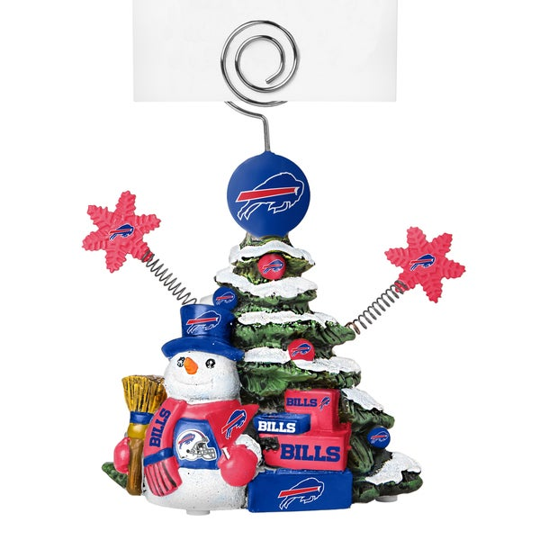 Buffalo Bills Cast Porcelain Tree Photo Holder