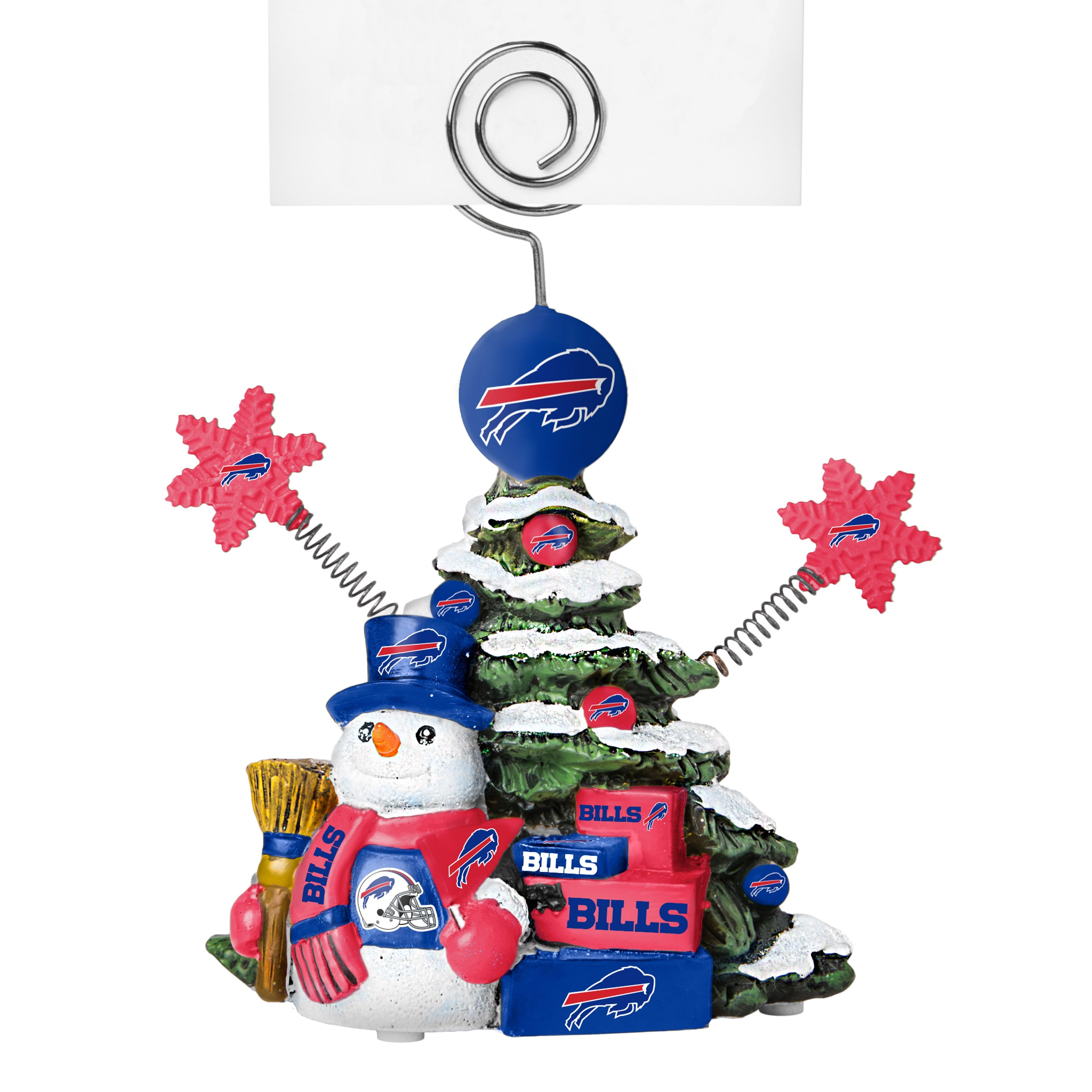 BOELTER BRANDS Buffalo Bills Cast Porcelain Tree Photo Ho...