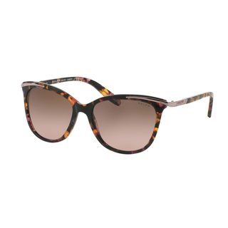 Ralph by Ralph Lauren Women's RA5203 Pink Plastic Cat Eye Sunglasses