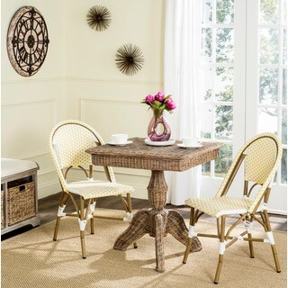Safavieh Mirari Natural Rattan Dining Table