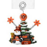 Cincinnati Bengals Cast Porcelain Tree Photo Holder