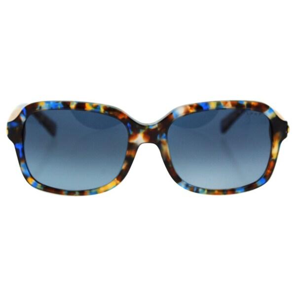 c999e12286 Ralph by Ralph Lauren Women  x27 s RA5202 Blue Plastic Rectangle Polarized  Sunglasses
