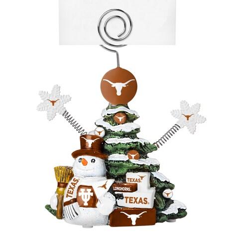 Texas Longhorns Cast Porcelain Tree Photo Holder