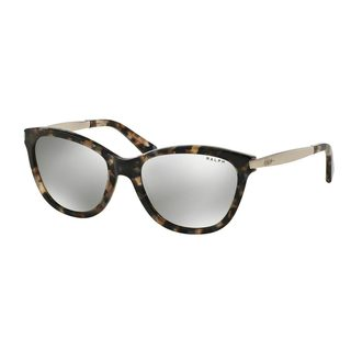Ralph by Ralph Lauren Women's RA5201 Brown Plastic Cat Eye Sunglasses