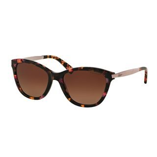 Ralph by Ralph Lauren Women's RA5201 Pink Plastic Cat Eye Polarized Sunglasses