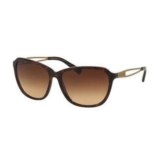 Ralph by Ralph Lauren Women's RA5199 Tortoise Plastic Square Sunglasses