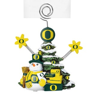Oregon Ducks Cast Porcelain Tree Photo Holder
