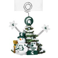 Michigan State Spartans Cast Porcelain Tree Photo Holder