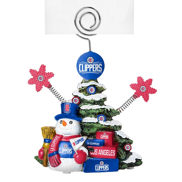 Los Angeles Clippers Cast Porcelain Tree Photo Holder