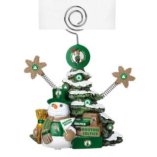 Boston Celtics Cast Porcelain Tree Photo Holder