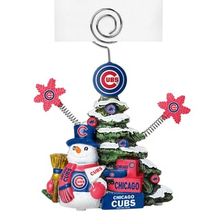 Chicago Cubs Cast Porcelain Tree Photo Holder