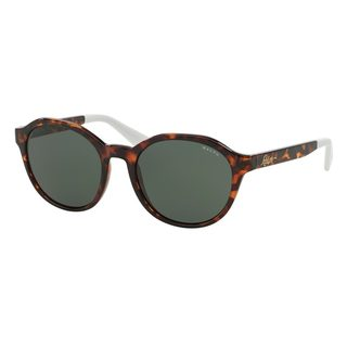 Ralph by Ralph Lauren Women's RA5193 Tortoise Plastic Phantos Sunglasses