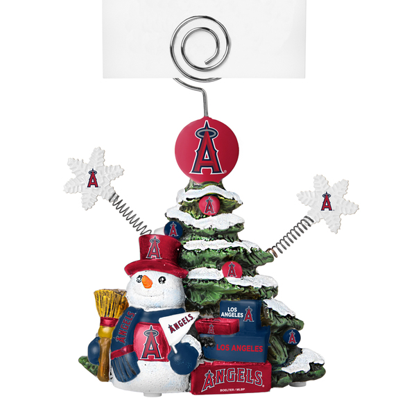 Los Angeles Angels Cast Porcelain Tree Photo Holder