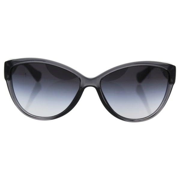 6bfcee8ebf8d Ralph by Ralph Lauren Women's RA5176 Grey Plastic Cat Eye Sunglasses