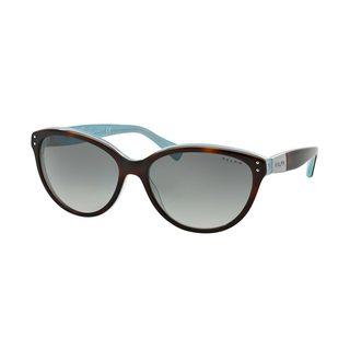 Ralph by Ralph Lauren Women's RA5168 Tortoise Plastic Cat Eye Sunglasses