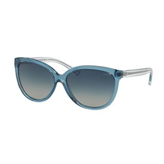 Coach Women's HC8153 Blue Plastic Square Sunglasses