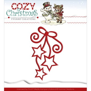 Find It Trading Yvonne Creations Cozy Christmas Die-Hanging Stars