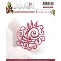 Find It Trading Precious Marieke Charming Christmas Die-Bird Ornament