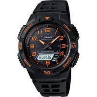 "Casio Men's  ""Slim"" Solar Multi-Function Ana-Digi Sport Watch"
