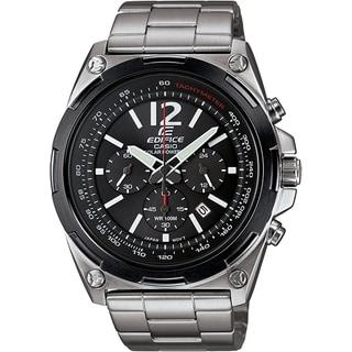 Casio Men's Edifice Stainless Steel Solar Chronograph Watch