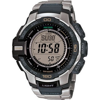 Casio Men's PRG-270B-3CR PRO TREK Aviator Watch