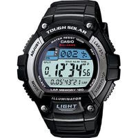 """Casio Men's WS220-1BV """"Tough Solar"""" Running Watch WITH Resin Band"""
