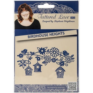 Tattered Lace Metal Die-Birdhouse Heights