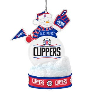 Los Angeles Clippers LED Snowman Ornament|https://ak1.ostkcdn.com/images/products/10857832/P17897014.jpg?impolicy=medium