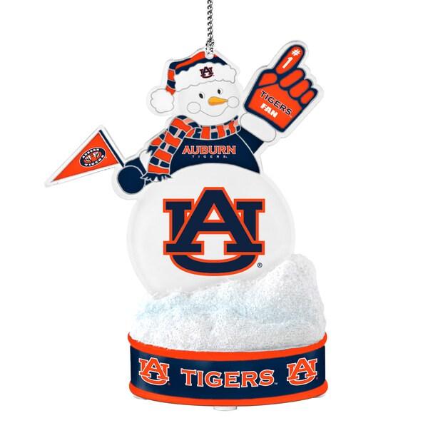 Auburn Tigers LED Snowman Ornament