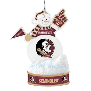 Florida State Seminoles LED Snowman Ornament