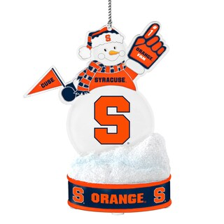 Syracuse Orangemen LED Snowman Ornament