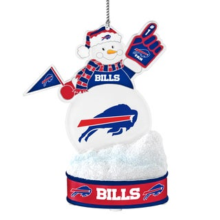 Buffalo Bills LED Snowman Ornament