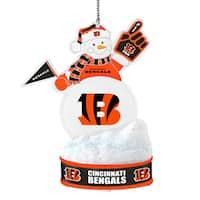 Cincinnati Bengals LED Snowman Ornament