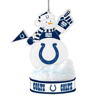 Indianapolis Colts LED Snowman Ornament