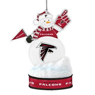 Atlanta Falcons LED Snowman Ornament
