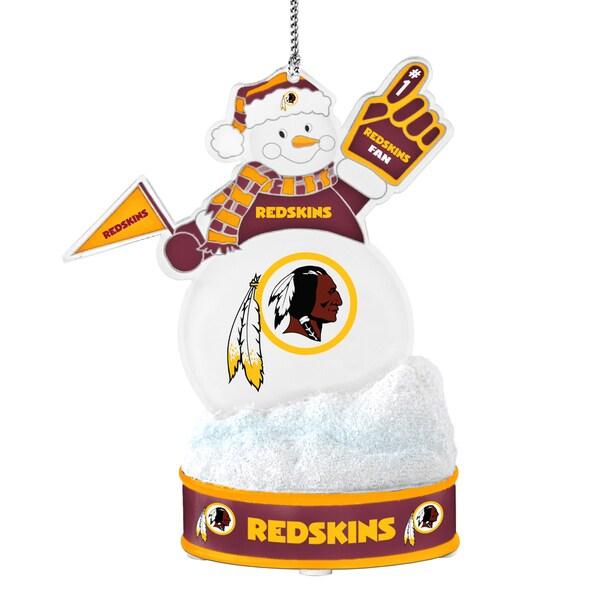 Washington Redskins LED Snowman Ornament