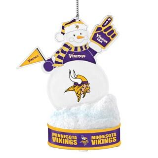 Minnesota Vikings LED Snowman Ornament