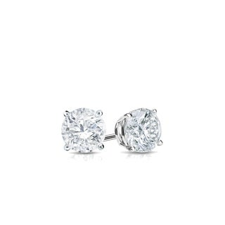 Auriya 18k Gold 1 4ctw Round Diamond Stud Earrings