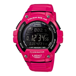 "Casio Men's WS220C-4BVCF ""Tough Solar"" Digital Sport Watch"