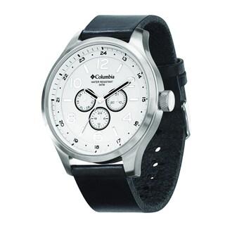 Columbia Men's CA015004 Skyline Large Round Analog Black Strap Watch