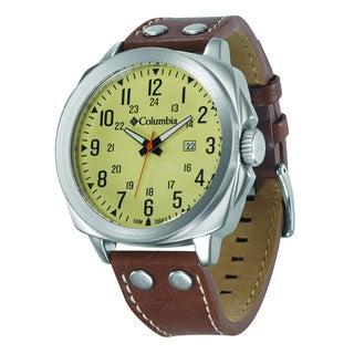 Columbia Men's CA018220 Cornerstone Analog Display Quartz Brown Watch