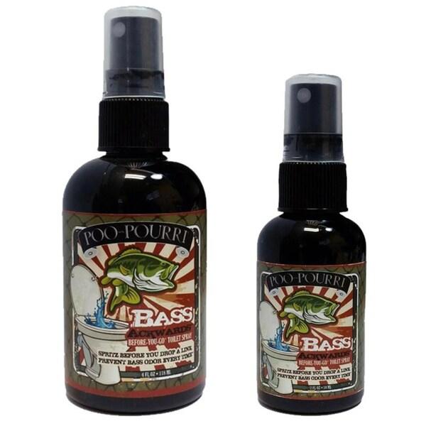 Poo-Pourri Bass Ackwards Mountain Air Pine Scent Toilet Spray ...