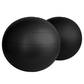 AeroMat Black Fitness Ball