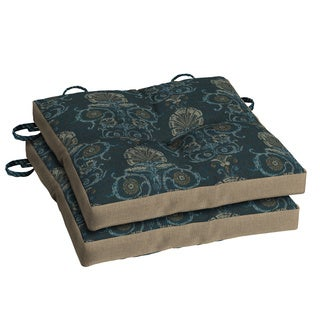 Bombay® Outdoors Anatolia Blue Bistro Cushion - (2-pack)