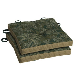 Bombay® Outdoors Palmetto Green Bistro Cushion -(2-pack)