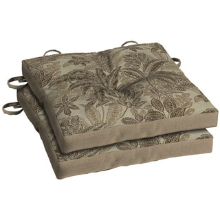 Bombay® Outdoors Palmetto Mocha Bistro Cushion - (2-Pack)