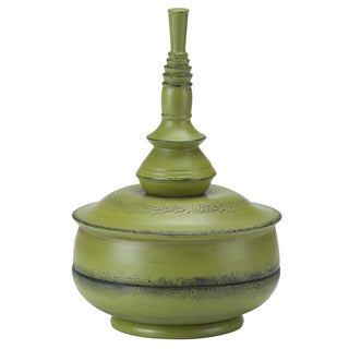 Bombay® Outdoors Small Celery Balinese Finial - Green