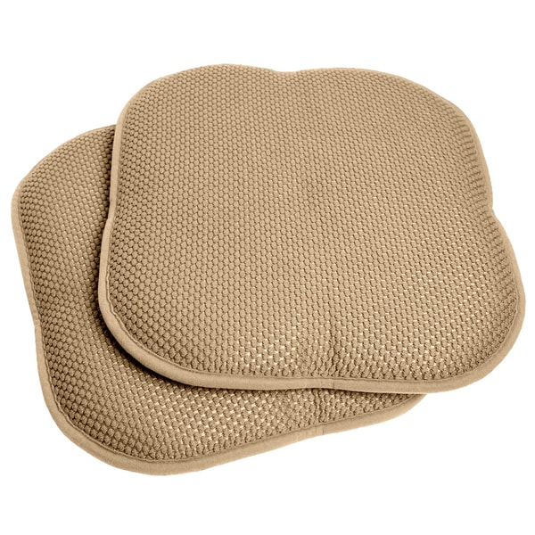 Taupe 16 inch Memory Foam Chair PadSeat Cushion with Non  : Taupe 16 inch Memory Foam Chair Pad Seat Cushion with Non Slip Backing 2 or 4 Pack 22a66287 2d37 4b19 b9b7 1420c678af1e600 from www.overstock.com size 600 x 600 jpeg 88kB