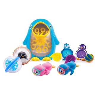 Summer Infant Tub Time Party Like A Penguin Bath Toy Set
