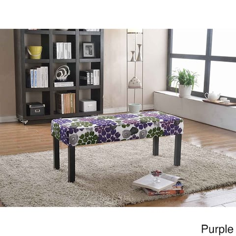 Alma Fabric Upholstered Decorative Bench